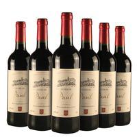 法国原装进口红葡萄酒欧盟产区 750ml*6